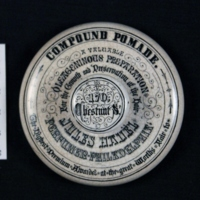 Whiteware Jar Lid (top)
